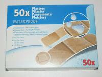 Boite Lot x50 Assortiment Pansement Adhésif étanche Waterproof Sticking Plaster
