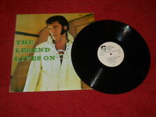 ELVIS  IMPORT LP LEGEND LIVES ON  FIRST PRESSING RARE!!