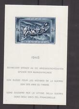 Schweiz 1945 Rettungsboot, Mi-Nr. Block 11, postfrisch, Michel 220€