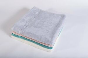 2 X ECO FRIENDLY AND ANTIBACTERIAL BAMBOO LUXURIOUS TOWELS plus FREE POSTAGE.