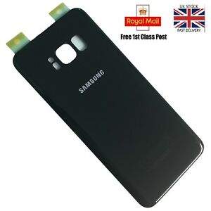 REAR BACK GLASS BATTERY COVER WITH ADHESIVE SAMSUNG  S8,S8plus