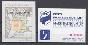 Estonia Block 6 Exhibition Mare Balticum (MNH)