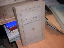 1928.Gleizes & influence mouvement naturiste.Demarquette