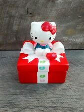 Ceramic Hello Kitty Jelly Belly Gift Package Container with Lid