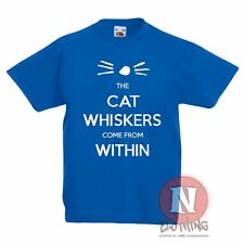Dan and Phil the cat whiskers come from within t-shirt tee youtube danisonfire