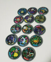 YO KAI WATCH MEDAL GROUP LOT SOME HARDER TO FIND MEDALS!