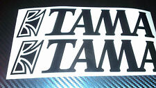 TAMA DRUMS  DRUM KITS VINYL STICKER DECAL LOGO CHOICE OF COLOURS