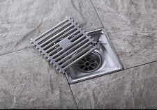 Bathroom Stainless Steel Square Floor Waste Grate Floor Drain11-125