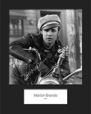 MARLON BRANDO #3 Signed Photo Print 10x8 Mounted Photo Print - FREE DELIVERY