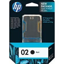 Genuine HP 02 Black Ink Photosmart 3110 C5140 C5150 C6100 8230 8250 (Retail Box)