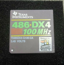 Texas Instruments 486 DX4100 100MHz Processor CPU DX4-100