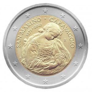 Sondermünzen San Marino: 2 Euro Münze 2021 Caravaggio Sondermünze Gedenkmünze