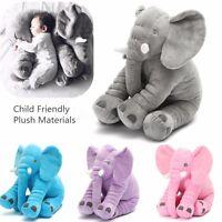 Bebé Infantil Elefante Almohada Suave Muñeca Felpa Juguete Cojín Domir 40cm Niño