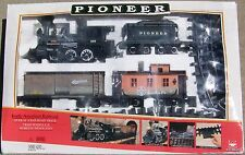 1986 New Bright Pioneer 999 G Scale Battery Powered Model Train Set