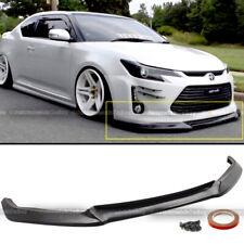 For 14 15 16 Scion TC JDM Sport GT Style PU Front Bumper Lip Spoiler Body Kit