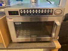 More details for samsung cm1929 1850w commercial heavy duty microwaverestaurants & take aways