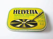 Grammophon NADELDOSE HELVETIA gramophone needle tin