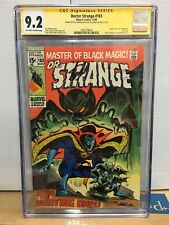 DOCTOR STRANGE #183 (1969) CGC SS 9.2 - x2  signed STAN LEE  - FINAL ISSUE!