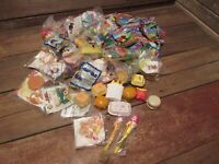 VINTAGE LARGE LOT McDonald's Happy Meal Toys 80's Original Unopened Some Loose!