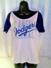 Los Angeles Dodgers Women's Pink Short Sleeve Baseball T-shirt