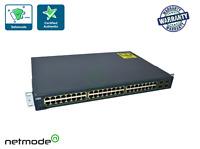 Cisco WS-C3560-48TS-E Catalyst 3560 48 Port 10/100 4 SFP Enhanced Switch  q6