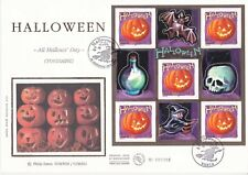 Enveloppe grand format 1er jour 2001 Halloween All Hallows' Day Toussaint