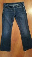 Citizens of Humanity KELLY #001 Jeans size 29 x 28.5 Dark Stretch Low Boot