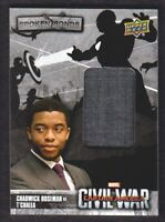 2016 Captain America Civil War Broken Bonds Memorabilia #BB-TC T'Challa