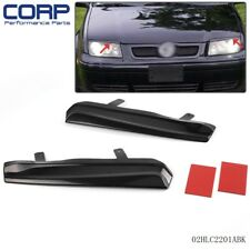 2PCS For  VW  Jetta MK4 1999-2005  Mean Look Upper Headlight Cover Eyelids