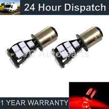 2X 380 BAY15D 1157 XENON RED 21 SMD LED DRL SIDELIGHT SIDE LIGHT BULBS SLD201601