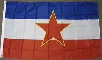 3X5 COMMUNIST YUGOSLAVIA FLAG OLD BANNER SIGN NEW F419
