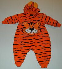FUNSTUFF - ADORABLE TODDLER TIGER  HALLOWEEN COSTUME - SMALL ( 9-12 MONTHS)