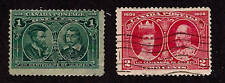 Canada-1908-Sc 97-98-H&Used-Cartier & Champlain