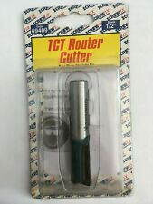 """Screwfix TCT Router Cutter - Two flute straight bit 1""""x1/2"""""""