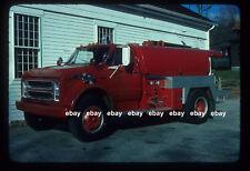Woodbury CT 1971 Chevrolet Gowans Knight tanker Fire Apparatus slide
