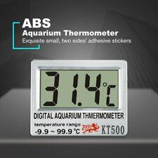 LCD Digital Electronic Temperature Fish Tank Temp Meter Aquarium Thermometer Wt
