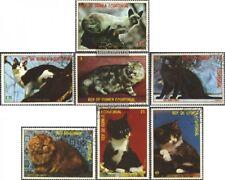Guinea Ecuatorial 1394-1400 (compl.edición) usado 1978 gatos