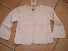 (60) bellybutton Baby Strickjacke mit Kaschmir Anteil & Trompeten Ärmeln gr.80