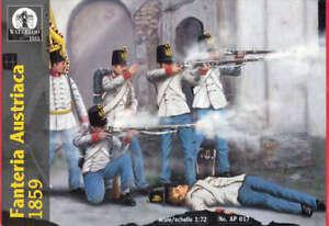 Waterloo 1815 1/72 1859 Austrian Infantry # AP017
