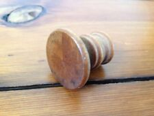 2 diameter Antique Hardware Vintage Solid Maple Wood Farmhouse Drawer Pull Knob Hardware Antiques