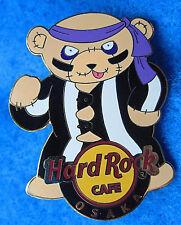 OSAKA KARATE MARTIAL ARTS TRIAD GANG METAL BEAR SERIES Hard Rock Cafe PIN LE