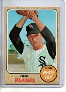 1968 TOPPS FRED KLAGES #229 ( EX-MT OR BETTER )