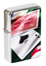Poker Flip Top Lighter