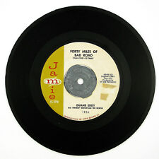 DUANE EDDY Forty Miles Of Bad Road/The Quiet Three 7IN 1959 ROCKABILLY VG++