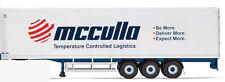 CORGI MODERN TRUCK FRIDGE TRAILER TRI-AXLE MCCULLA IRELAND DMS 166