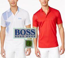NWT Hugo Boss Green Label by Hugo Boss LOGO Moisture Manager Polo Shirt