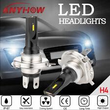 2pcs H4 LED Fog Light Bulb Kit White Headlight Hi/Low CSP Driving Lamp DRL 6000K
