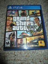 Grand Theft Auto V 5 (Sony PlayStation 4, 2014) Complete ps4 GTA