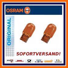 2x OSRAM ORIGINALE LINEA WY21W Indicatore Posteriore LAMPADINE SEGNALE girata
