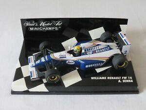 A. SENNA 1994 Williams Renault FW16 Paul's Model Art Minichamps Formula 1 1:43